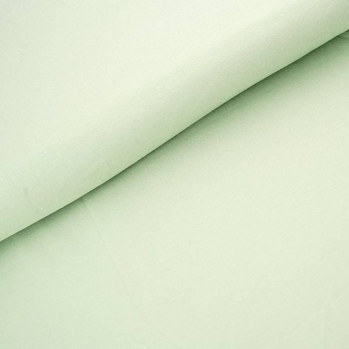 Økologisk jersey, pastellgrønn