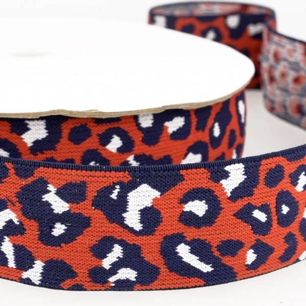 Bilde av 4cm boxerstrikk, leopard rød