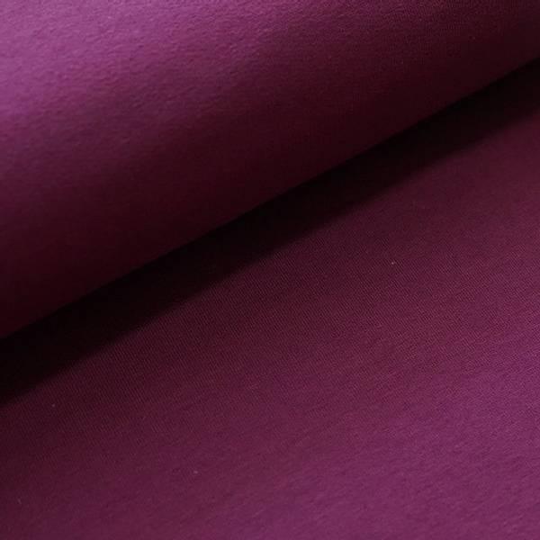 Bilde av Økologisk french terry, plomme