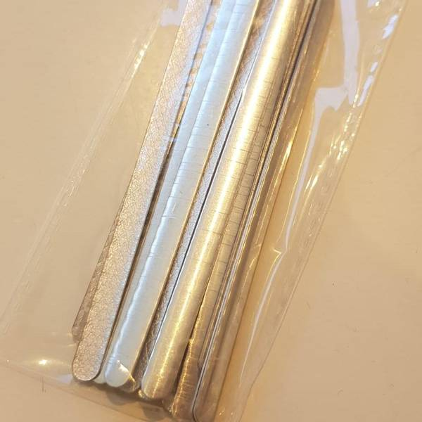 Bilde av 20pk nesebøyle, aluminium påstrykbar