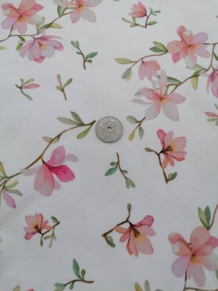 Bilde av French Terry, delikat blomst