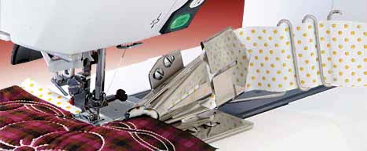 Kantbåndsapparat 15mm til symaskiner gr. 1 EasySet
