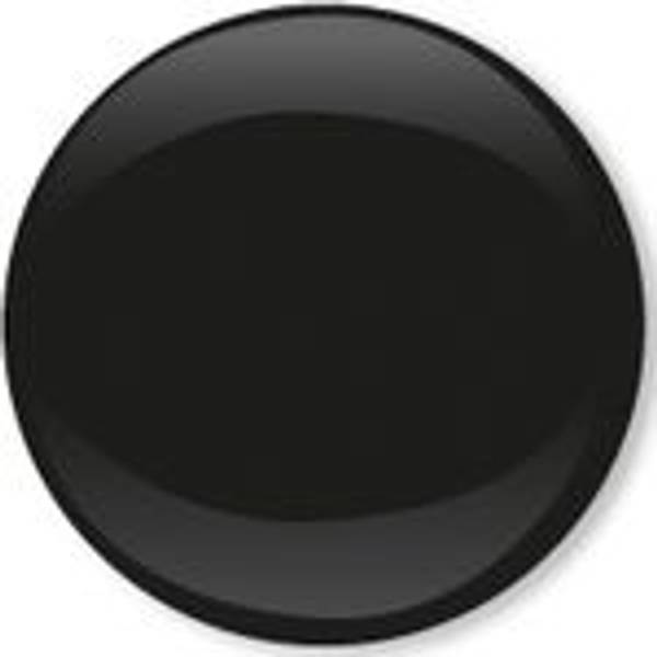 Bilde av Metalltrykknapper m/kappe svart