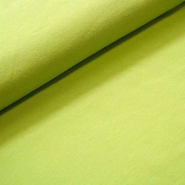 Bilde av Økologisk french terry, neongrønn